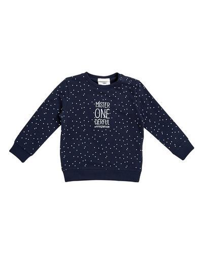 Sweater mit Allover-Print